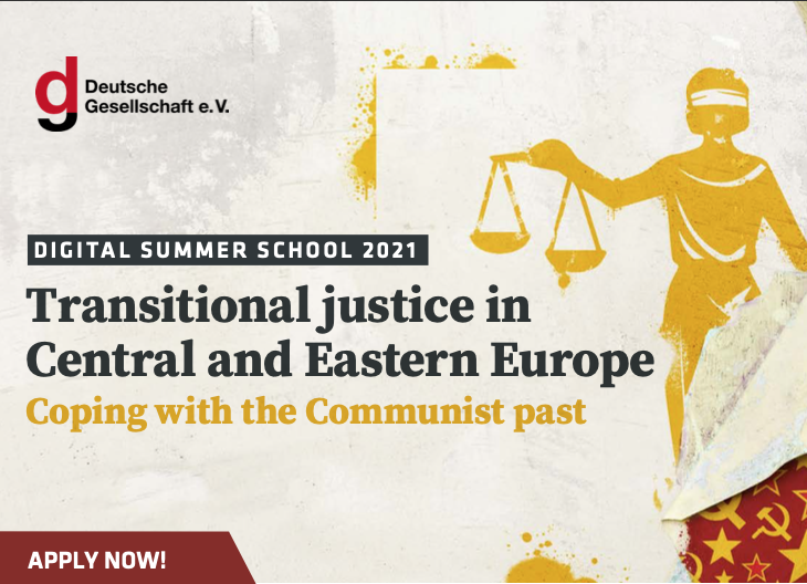 Digital Summer School 2021 - Transitional justice in Central and Eastern Europe