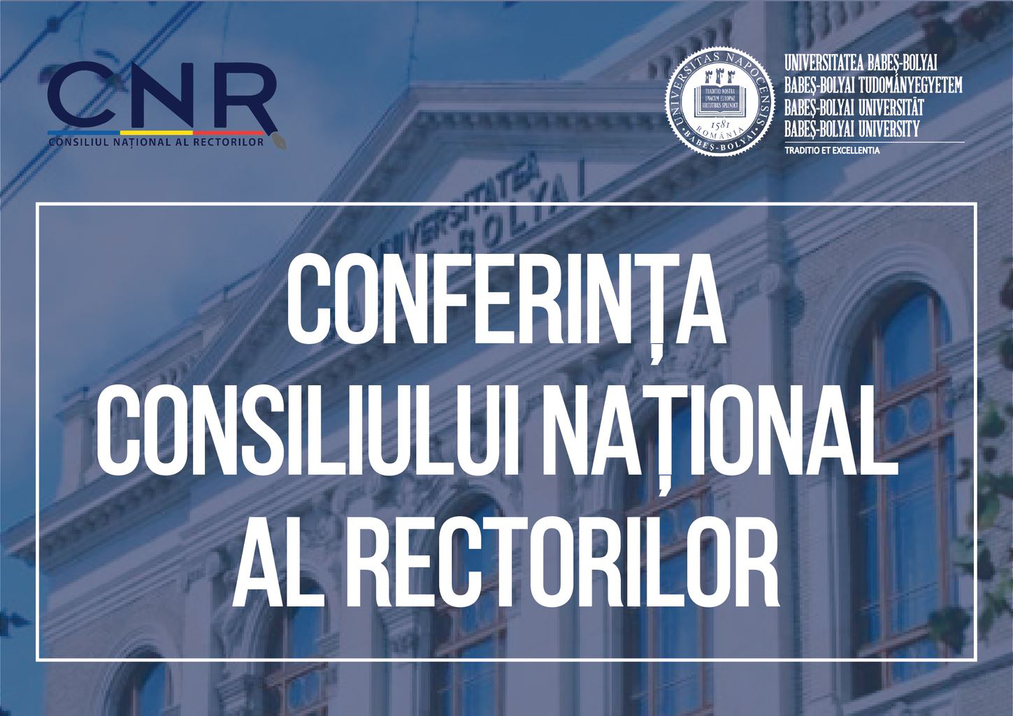 Conference of the National Council of Rectors at Babeș-Bolyai University